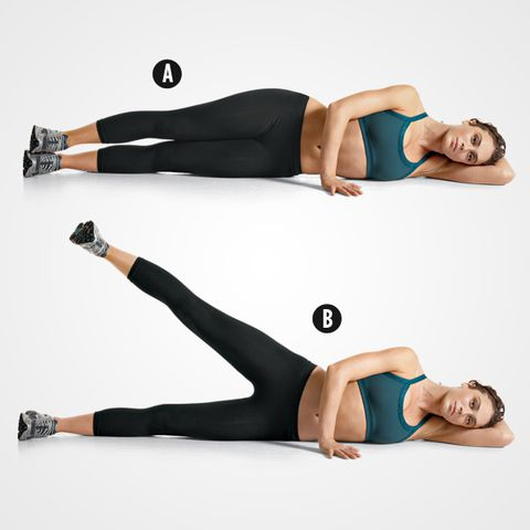 home workout to lose fat