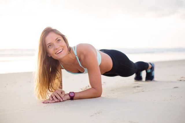 plank weight loss home exercise