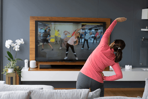 exercise regularly in corona pandemic times